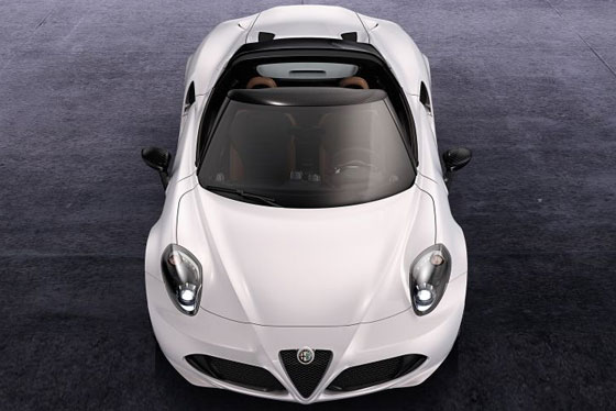Alfa Romeo 4C Spider ©Fiat Group Automobiles Germany AG