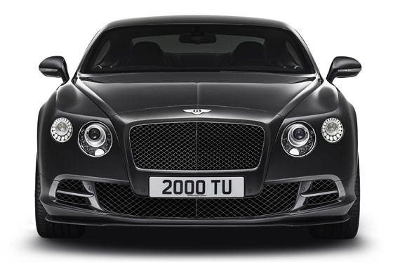 Der aufgefrischte Bentley Continental GT Speed ©Bentley Motors Limited