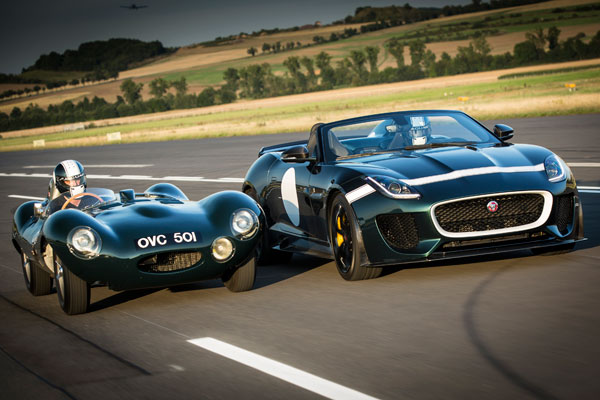 Jaguar D-Type und F-Type Project 7 ©Jaguar Land Rover