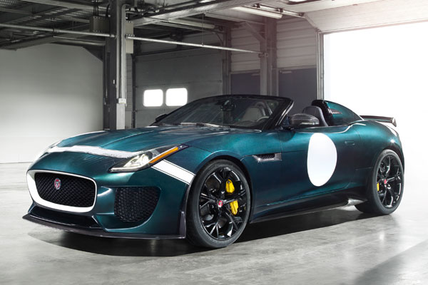 Jaguar F-Type Project 7 ©Jaguar Land Rover