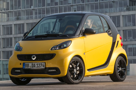 Der neue smart fortwo edition cityflame ©2013 Daimler AG