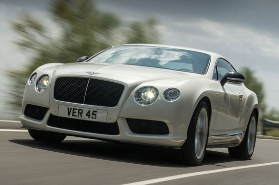 Der neue Bentley Continental GT V8 S kommt 2014 auf den Markt ©Bentley Motors Limited