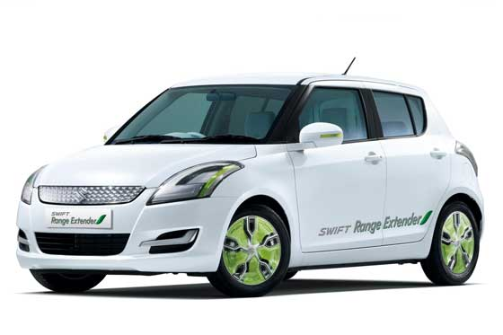 Der Suzuki Swift Range Extender ©SUZUKI INTERNATIONAL EUROPE GMBH