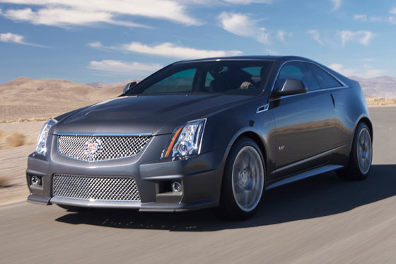 Cadillac CTS-V Coupe ©General Motors Company