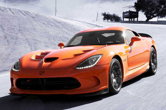 Die neue Dodge Viper SRT TA ©2013 Chrysler Group LLC.