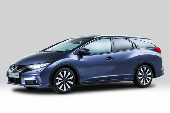 Der neue Honda Civic Tourer ©HONDA MOTOR EUROPE LIMITED