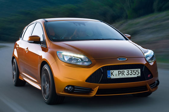 Der neue Ford Focus ST 2012 ©Ford Media