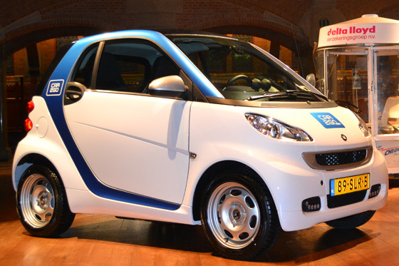 smart fortwo electric drive im car2go-Outfit ©autorild.de