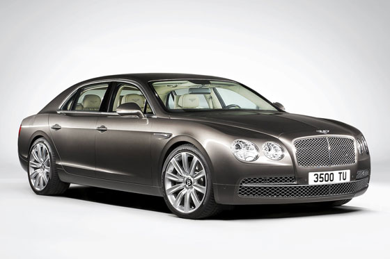 Der neue Bentley Flying Spur ©Bentley Motors Limited
