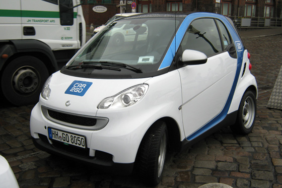Der smart fortwo in der car2go-Edition ©autorild.de